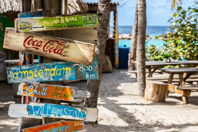 diving in Curacao, Caribbean