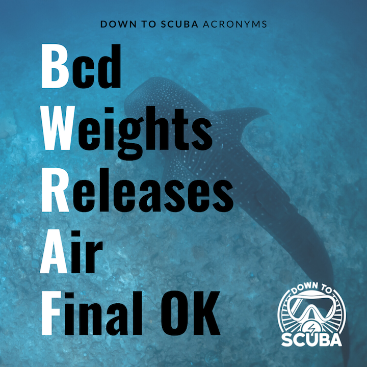 Scuba Acronym - BWRAF what does this acronym stand for?
