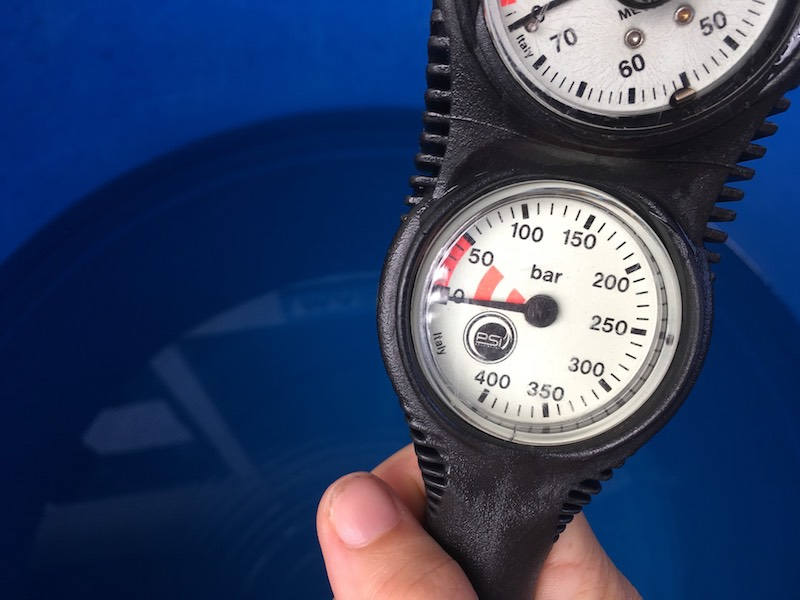 SPG (Submersible Pressure Gauge) is a scuba acronym you should learn.