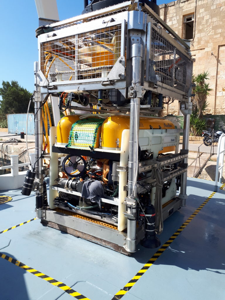 A Remotely Operated Vehicle used in maritime archaeology