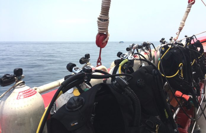 A rescue diver equipment list includes your normal diving setup plus extra things