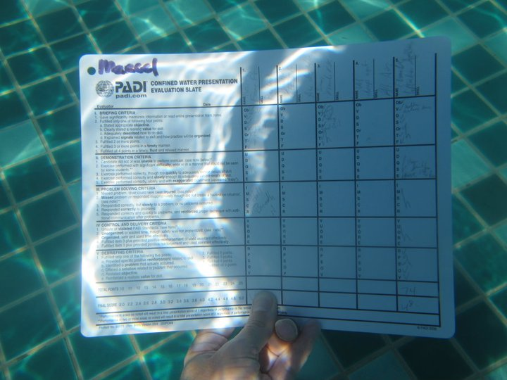 Assessing IDC as a PADI Course Director