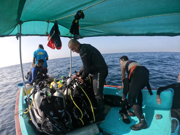 Boat Diving in Puducherry