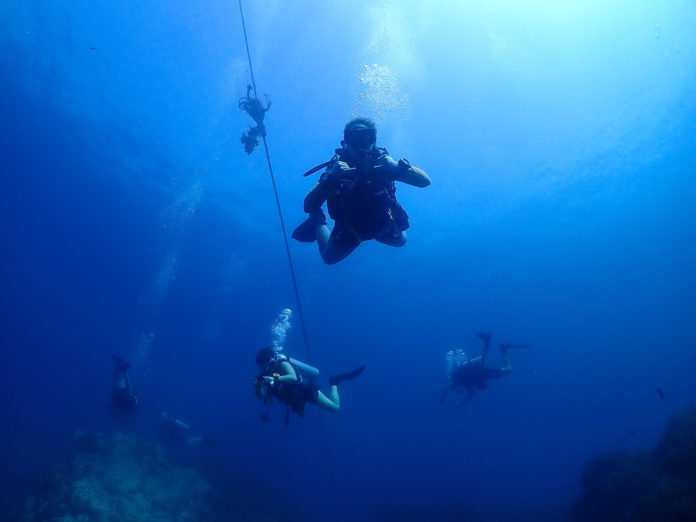 Divemasters in Thailand diving on Koh Tao. What is a typical divemaster salary?