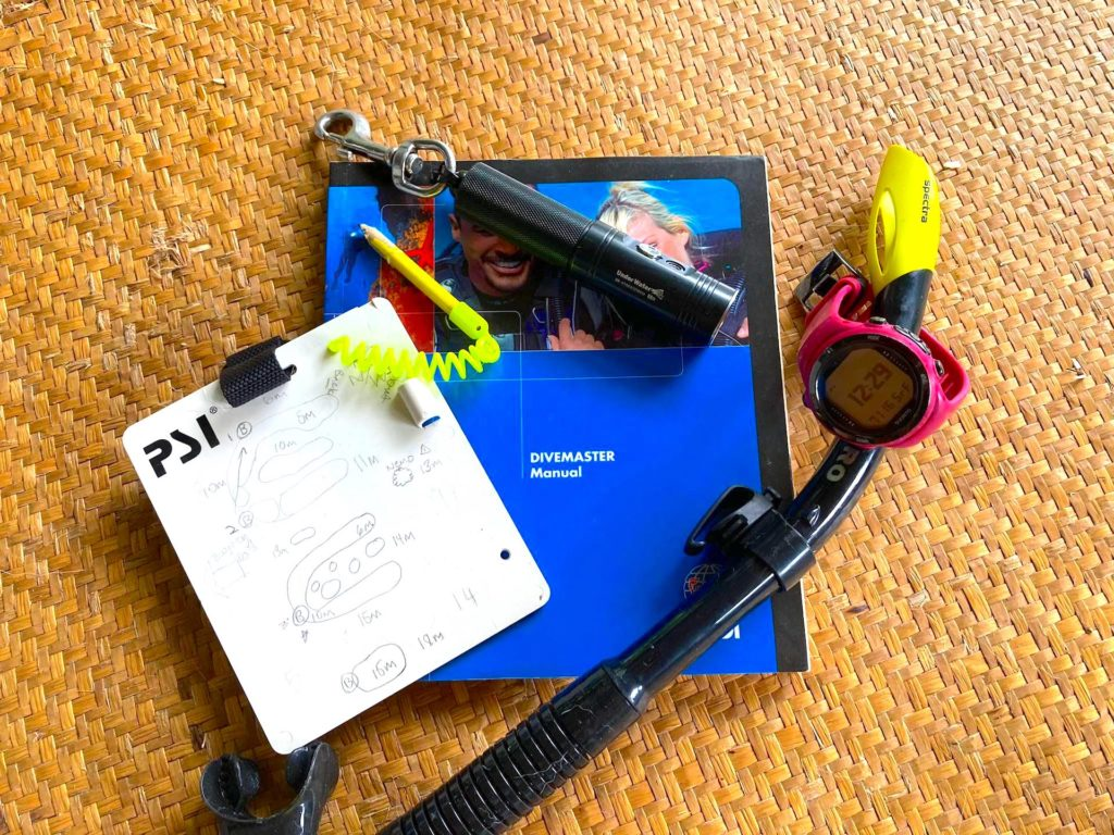 The essentials for a divemaster in Thailand