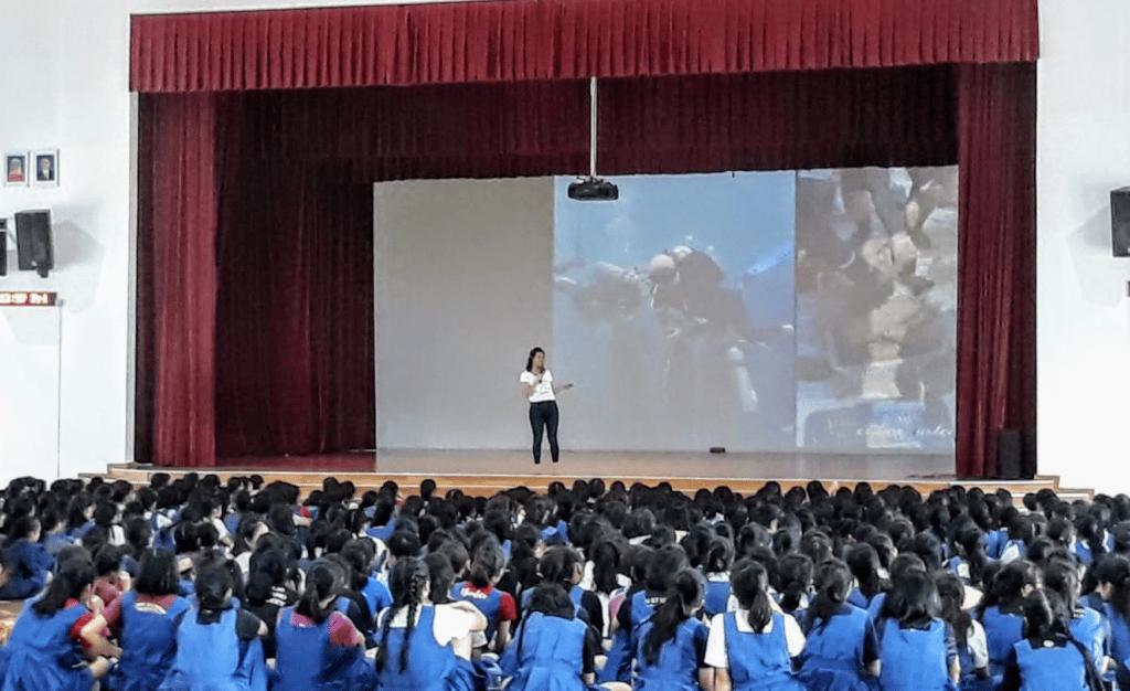 Kathlyn Tan School Presentation