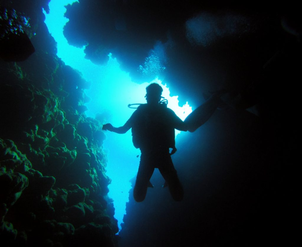 Scuba diving dangers are commonly due to impaired judgement