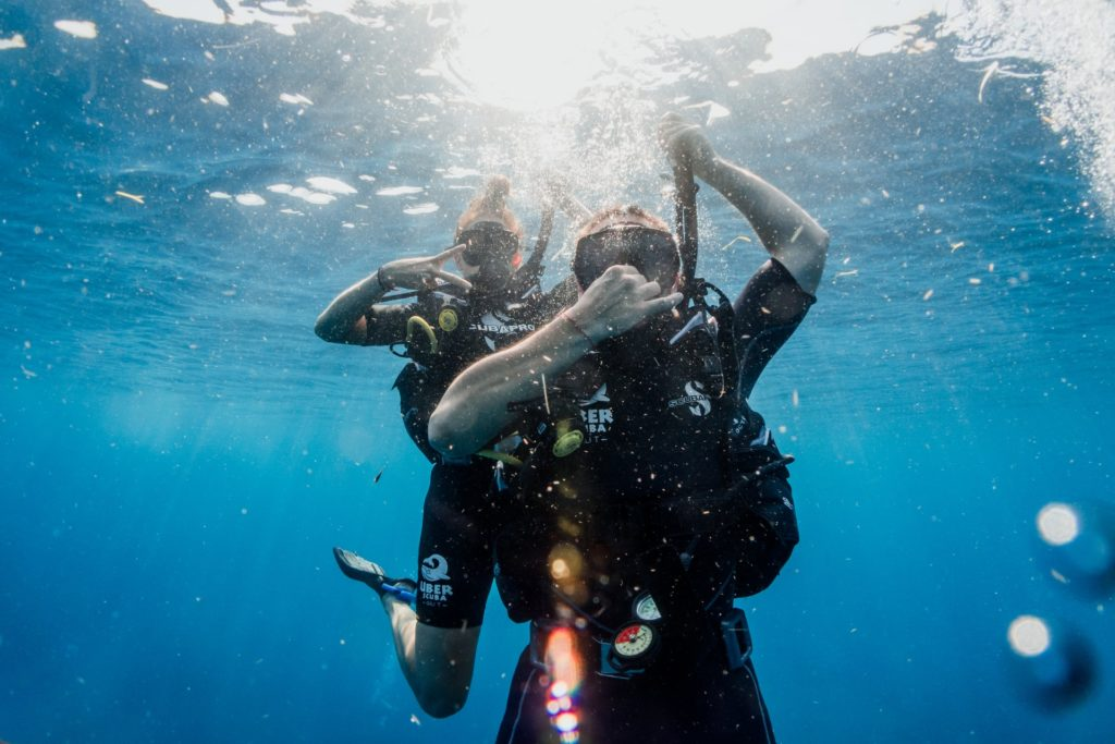 A scuba diving danger is pain caused by ear barotrauma