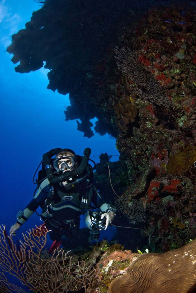 Diving in the Cayman Islands with Mark Caney