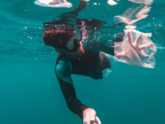 Plastic pollution is affecting our ocean's environment.